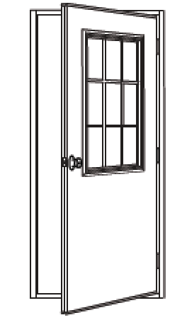 THE THERMAL BREAK QUALITY DOOR PROVIDES \u2022 Excellent energy savings \u2022 Attractive seamless appearance \u2022 Economy with durability \u2022 Ease of installation \u2022 Low ...