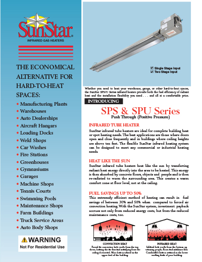 SunStar Heaters Brochure
