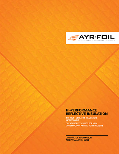Ayrfoil Insulation Brochure