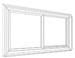 The Ideal Window for Aluminum or Vinyl Sided Buildings