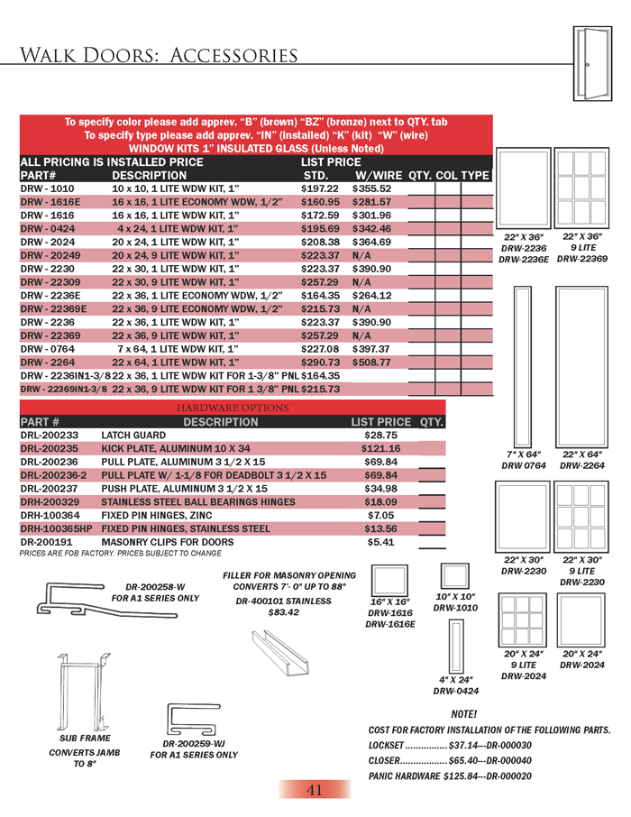 Hardware Options page 2